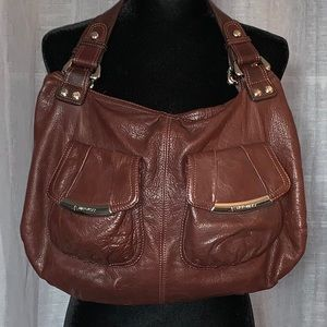 B Makowsky Brown Leather Beautiful Purse!!!